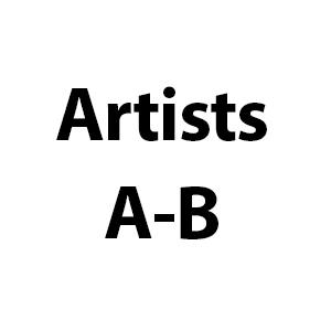 Artists A-B