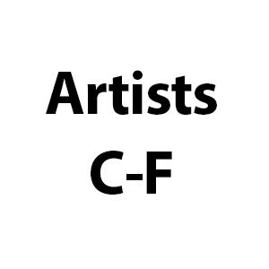 Artists C-F