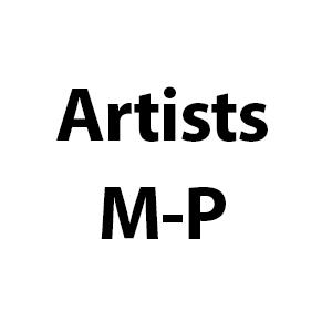 Artists M-P