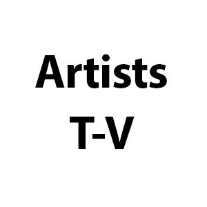 Artists T-V