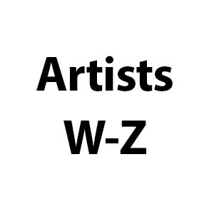 Artists W-Z