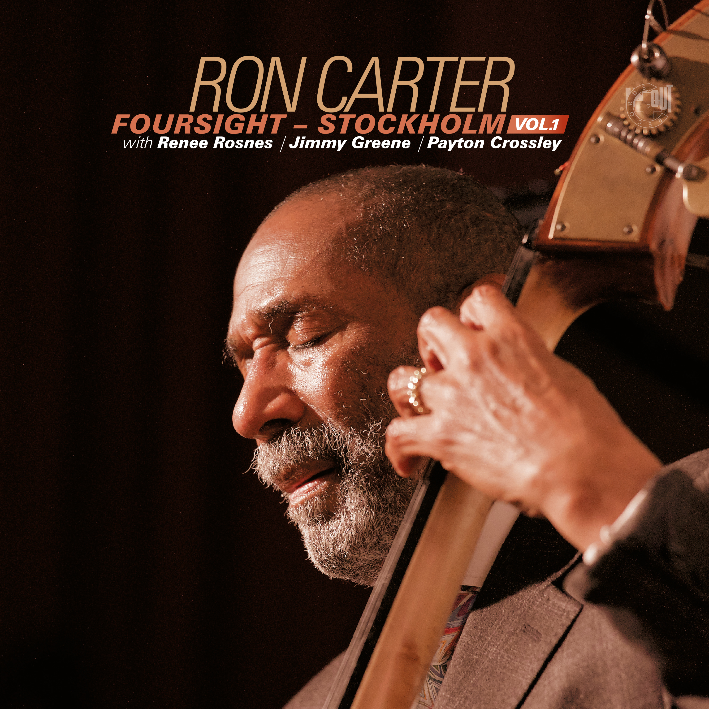Ron Carter Foursight Stockholm Vol. 1 [CD] - IN+OUT Records GmbH